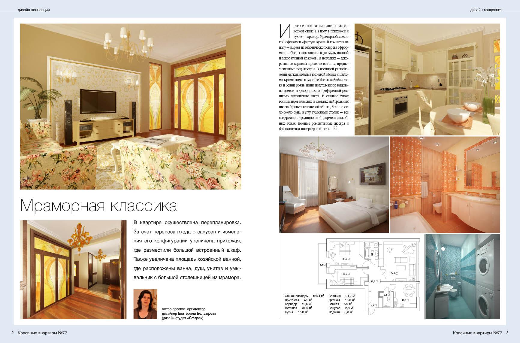 Красивые квартиры мраморная классика