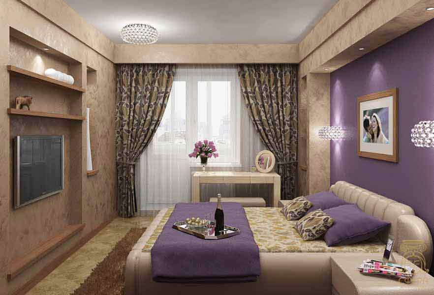 Интерьеры загородных домов спальни
