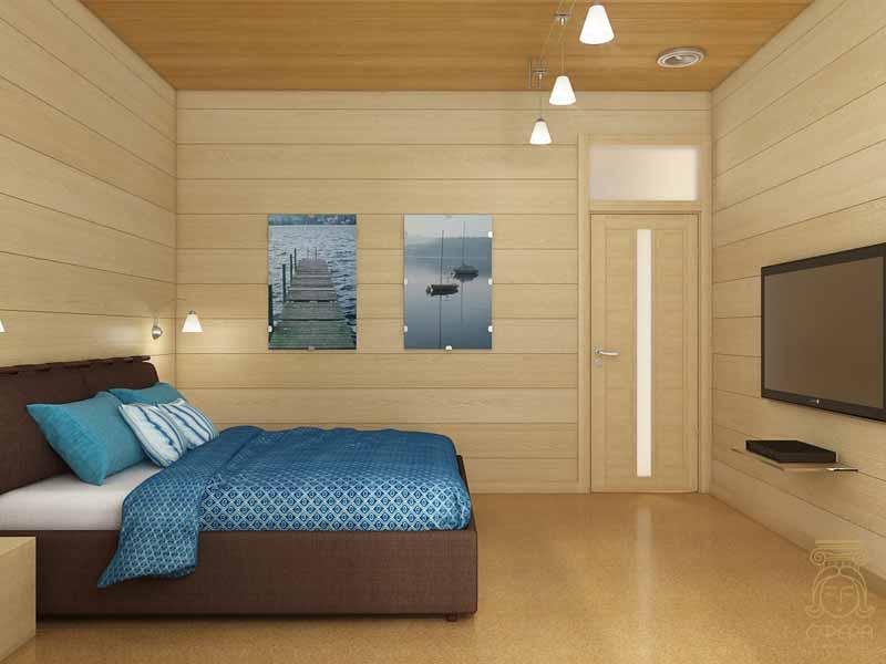 Спальня в своем доме дизайн