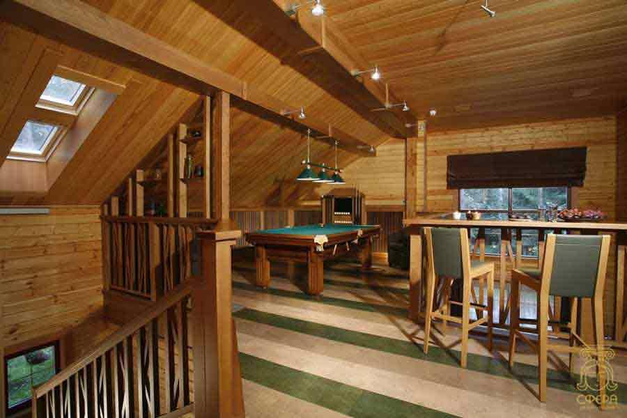 Дизайн интерьер дачного дома внутри