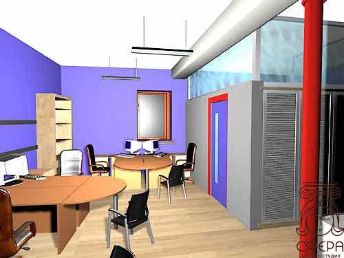 Дизайн интерьер небольшого офиса 85