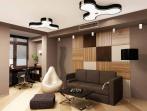 молодежная комната в современном стиле.
